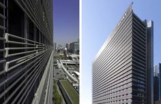 BioSkin was designed to reduce  both the heat load inside the building and the urban heat island effect,