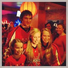 Photo by washingtoncaps - Ovi taking pics with fans at the Caps VIP STH Reception