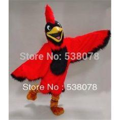 76b602eca Bright Red Parrot Cardinal Mascot Costume. Parrot CostumeMascot Costumes CardinalsBrightBirdsSuitsCostume AccessoriesFancy DressDresses