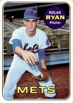 Nolan Ryan 1969 Topps #533