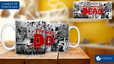 Caneca Interface- The Walking Dead