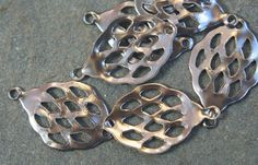 20 steel cut out teardrop with top hold finding by debsdesigns401