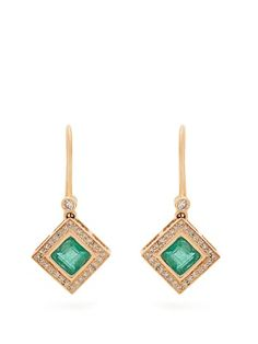 Diamond, emerald