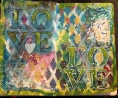 Aromaattista arkea askarrellen : Rakkautta ja jämämaalia