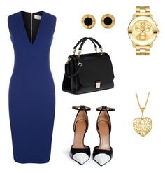 Untitled #1 by maariyah347 on Polyvore featuring polyvore, fashion, style, Victoria Beckham, Givenchy, Miu Miu, Movado and clothing