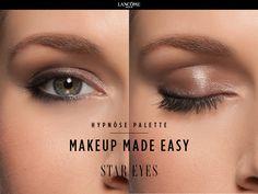 New Hypnôse Palette by Lancôme. Star Eyes Look. Sophisticated Eyes Made Easy