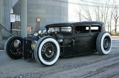 One low hot rod.