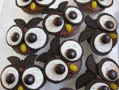 Cupcake corujinhas