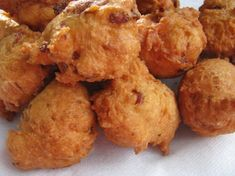 Rocky Point Clam Cakes - OMG I used to love these clam cakes as a kid.  Killer with clam chowder (New England of course...)