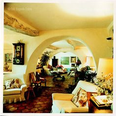 """FOR PILAR~: Dirk Bogarde's home, """"Le Pigeonnier,"""" in Provence"""