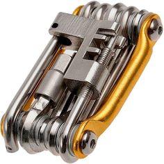 Portable Steel Multifunction Bicycle Tool Maintenance Bike Repair Tool Wrench 11 In 1 Cycling Bike Tools #bicyclerepairtools #bikerepair