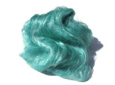 Hand dyed Firestar in a beautiful sagey green color.