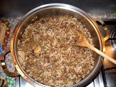 Vegan Vegetarian, Vegetarian Recipes, Greek Recipes, Lentils, Baking Recipes, Oatmeal, Food And Drink, Rice, Gluten Free