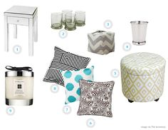 The Accessory: happy home: living room accents.