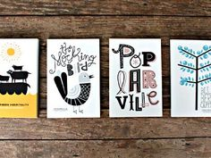 25 Postcard Designs Inspiration