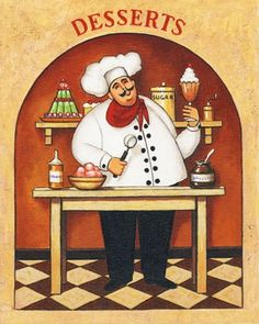 These chef's make me smile ~!~
