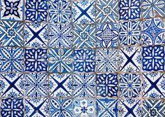 Marokkaanse tegels achtergrond
