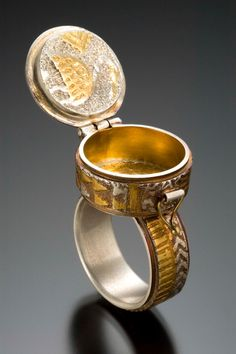 Open Box Ring by Celie Fago  Photo by Robert Diamante