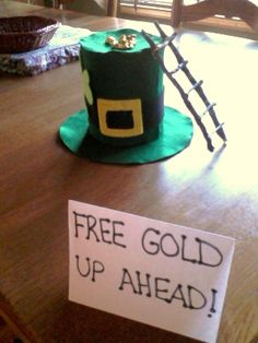 Every year, help your child build a leprechaun trap! It's a great way for them to be creative and have some fun for St. Patty's!