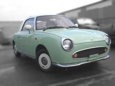 The One That Got Away: My Mint Green Nissan Figaro - the car I never bought but should have :)