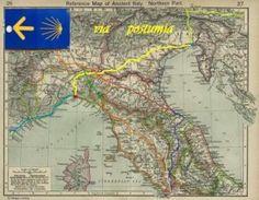 TRACCE GPX VIA POSTUMIA /GPX TRACKS - Via Postumia & European routes