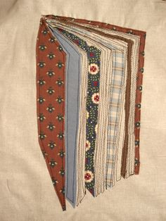 Patchwork book quilt.