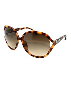 Take a look at this Soft Tortoise Vanessa Sunglasses by MICHAEL Michael Kors on #zulily today!