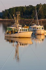 Lobster boats, Round Pond ME