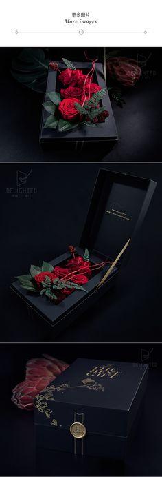 望外永生花盒 情人节玫瑰rose红玫瑰爱情生日求婚求爱纪念日浪漫-淘宝网