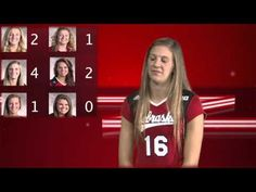 husker volleyball - whos the funniest player