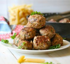 Angie Cooks In Portland: Donna Hay's Meatballs