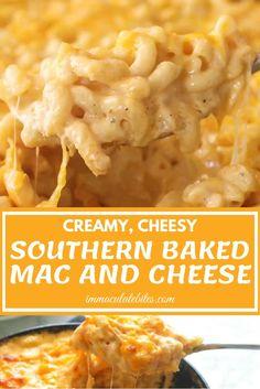Southern Mac And Cheese, Cheesy Mac And Cheese, Macaroni Cheese Recipes, Good Macaroni And Cheese Recipe, Mac And Cheese Sauce, Mac And Cheese Recipe For Kids, Mac And Cheese Receta, Cracker Barrel Mac And Cheese Recipe, Three Cheese Mac And Cheese Recipe