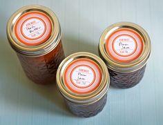 Printable jar labels
