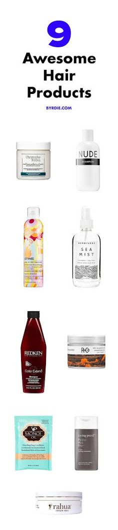 These are the best products for your hair