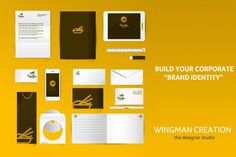 A visual style guide is like a company's personality on paper. @wingmancreation  #branding #company_branding #logo_marker #logo_branding, #corporate_logo #professional_branding #web_designing #digital_marketing     Follow: www.facebook.com/wingmancreation/  Visit : www.twitter.com/wingmancreation  Cont: 7013235037