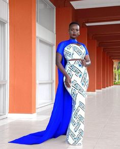 african attire for women outfits - african attire Latest African Fashion Dresses, African Print Dresses, African Dress, Ankara Long Gown Styles, Ankara Gowns, African Attire, African Wear, African Style, African Inspired Clothing