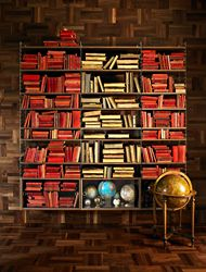 """String"" bookcase..."