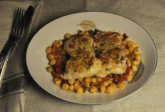 How to Love: Spanish Lemon Chicken and Garbanzos con Chorizo Spain Vs, Spanish Dishes, Lemon Chicken, Ratatouille, Korea, Cooking, Ethnic Recipes, Food, Kitchen