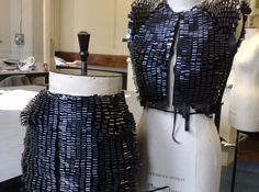 Couture Eco-Fashion Made From Recycled Video Tape | Ecouterre