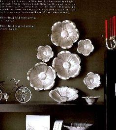 aluminum magnolia plate