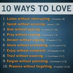 The Ten Relationship Commandments Everyone Breaks Sharing the Love of Christ. ..