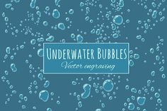 Background Underwater Bubbles by Marzufello on @creativemarket