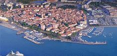 Koper is a city located at the coast of Slovenia. It is located on an island manually linked to the . Koper Slovenia, Slovenia Travel, Travel Information, Cool Places To Visit, City Photo, Medieval, Cruise, Coast, Europe
