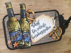 Tag Book Pop-up - Scrappehjertet Pop Up, Lunch Box, Beer, Tags, Books, Scrapbooking, Root Beer, Ale, Libros