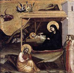 Burgundy Baron's Blog: Nativity by Taddeo Gaddi