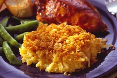 Cheesy Hashbrown Casserole - the best dish for pot luck meals and holidays!