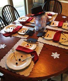 MENTŐÖTLET - kreáció, újrahasznosítás: Karácsonyi tálalás humorosan