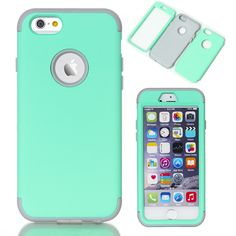 "Fundas For Cover Apple iPhone 6 6S 4.7"" Phone Cases Soft Rubber Silicone Hybrid Case Covers for iPhone6s plus 5.5 inch"