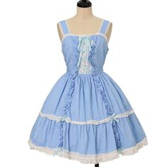 Worldwide shipping available ♪ Angelic Pretty ☆ ·. . · ° ☆ braided ruffle jumper skirt Https://www.wunderwelt.jp/en/products/w-19064  IOS application ☆ Alice Holic ☆ release Japanese: https://aliceholic.com/ English: http://en.aliceholic.com/