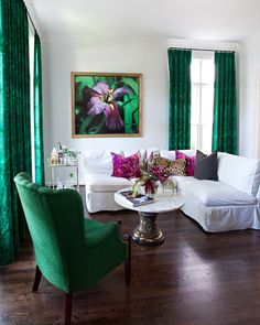 53 Natural Green Living Room Design Ideas You Must Try